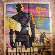 Cine: (CINE-347)LA MOMIA(THE MUMMY) - PETER CUSHING-CHRISTOPHER LEE- LOBBY CARD. Lote 213480515