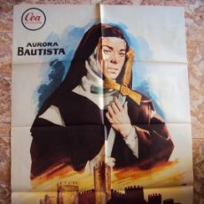 Cine: (CINE-375)TERESA DE JESUS AURORA BAUTISTA JUAN DE ORDUÑA POSTER ORIGINAL. Lote 213488846