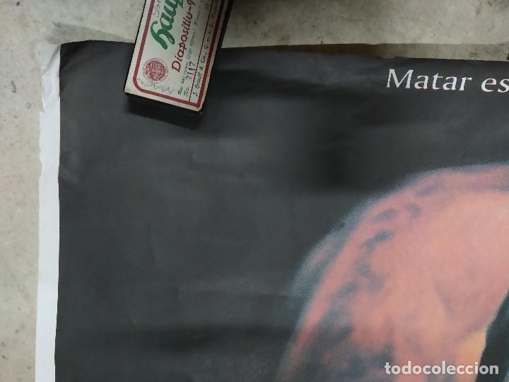 Cine: La madre muerta. Karra Elejalde, Ana Álvarez, Silvia Marsó, Juanma Bajo Ulloa. POSTER. 140 X 100 - Foto 2 - 213645707