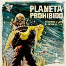 Cinéma: PLANETA PROHIBIDO (POSTER). Lote 213648731