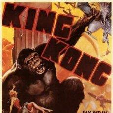 Cinéma: KING KONG (POSTER). Lote 213649436