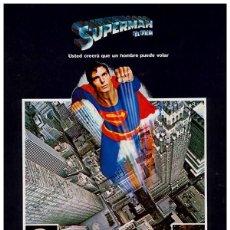 Cinéma: SUPERMAN (POSTER). Lote 213649597