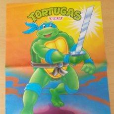 "Cine: POSTER "" LAS TORTUGAS NINJA"" "" LEONARDO "" MATUTANO 1990 N° 10. Lote 213655312"