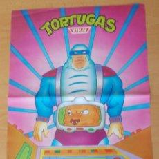 """Cine: POSTER """"LAS TORTUGAS NINJA"""" """"KRANG"""" MATUTANO 1990 N° 15. Lote 213692672"""