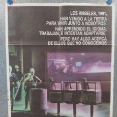 Cine: ALIEN NACIÓN. JAMES CAAN, MANDY PATINKIN, TERENCE STAMP. AÑO 1988. POSTER ORIGINAL. Lote 213697860