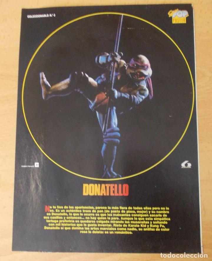 """PÓSTER SUPER POP N°3 """"DONATELLO"""" (Cine - Posters y Carteles - Acción)"""