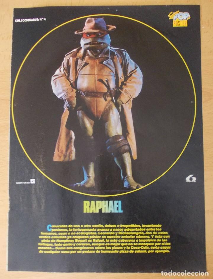 """PÓSTER SUPER POP N°4 """"RAPHAEL"""" (Cine - Posters y Carteles - Acción)"""