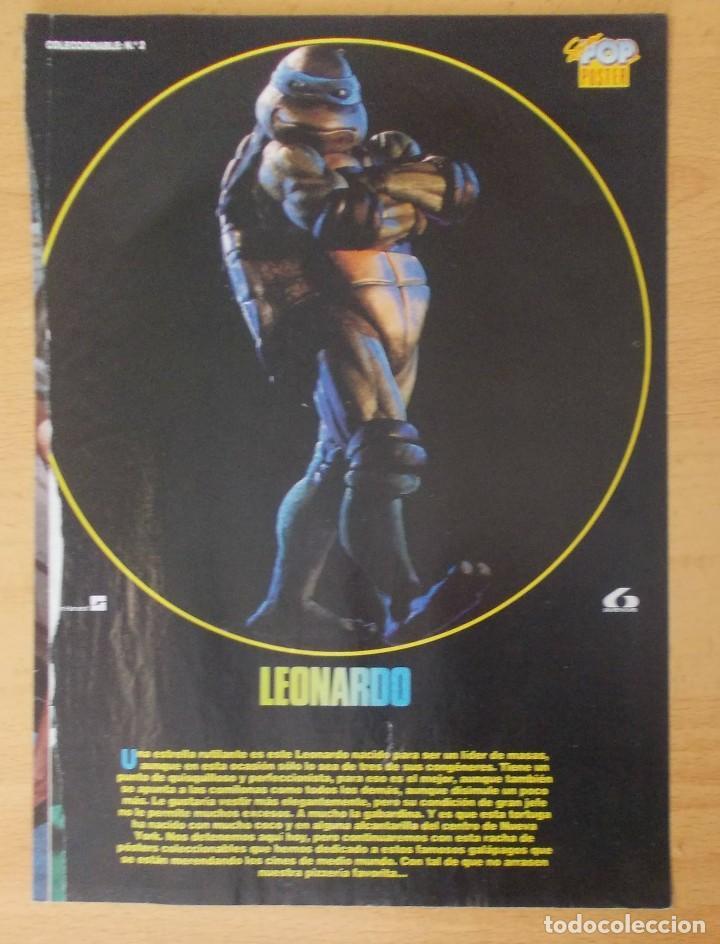 """PÓSTER SUPER POP N°2 """"LEONARDO"""" (Cine - Posters y Carteles - Acción)"""