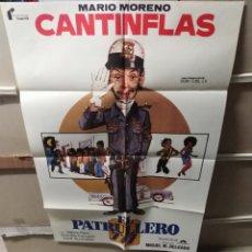 Cine: EL PATRULLERO 777 CANTINFLAS POSTER ORIGINAL 70X100 YY (2372). Lote 213786508