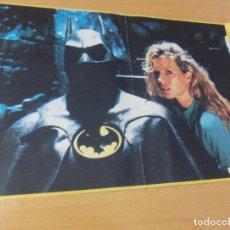 "Cine: PÓSTER - ÁLBUM ""BATMAN"" DAMER 1989. Lote 213879216"