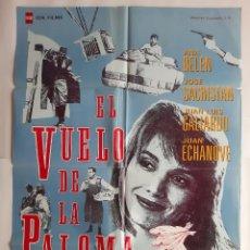 Cine: ANTIGUO CARTEL CINE EL VUELO DE LA PALOMA 1989 C-656. Lote 213959166