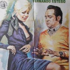 Cine: CARTEL CINE VIRILIDAD A LA ESPAÑOLA 1975 FERNANDO ESTESO MONICA RANDALL A 117. Lote 213982661