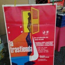 Cine: POSTER LA TRASTIENDA M-A JOE CANTUDO. Lote 214010112