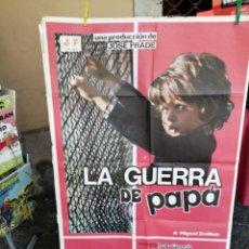 Cine: POSTER LA HUERRA DE PAPA. Lote 214011430