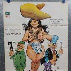 Cine: LAS FUERZAS VIVAS. DAVID REYNOSO, ARMANDO SILVESTRE, HÉCTOR LECHUGA, CARMEN AÑO 1977 POSTER ORIGINAL. Lote 214106372