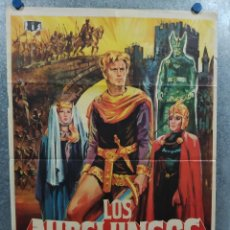 Cine: LOS NIBELUNGOS. UWE BEYER, ROLF HENNIGER, SIEGFRIED WISCHNEWSKI, MARIA M. AÑO 1971. POSTER ORIGINAL. Lote 214109101