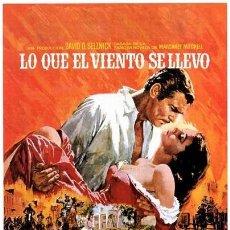 Cinéma: LO QUE EL VIENTO SE LLEVÓ (POSTER). Lote 214114448