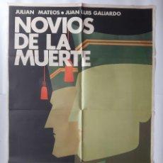 Cine: ANTIGUO CARTEL CINE NOVIOS DE LA MUERTE LEGION ESPAÑOLA + 11 FOTOCROMOS 1974 CC-283. Lote 214195248