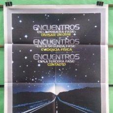 Cine: CARTEL ORIGINAL DE CINE - ENCUENTRO EN LA TERCERA FASE - EXCELENTE - P2. Lote 214203677