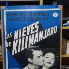 Cine: LAS NIEVES DE KILIMANJARO AVA GARDNER GREGORY PECK HAYWARD. Lote 214480605