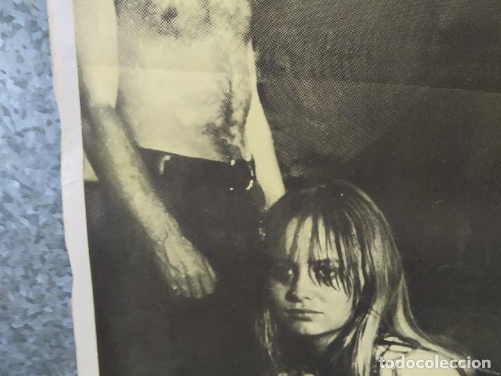 Cine: Perros de paja. Dustin Hoffman, Susan George. AÑO 1971. POSTER ORIGINAL - Foto 6 - 214646937
