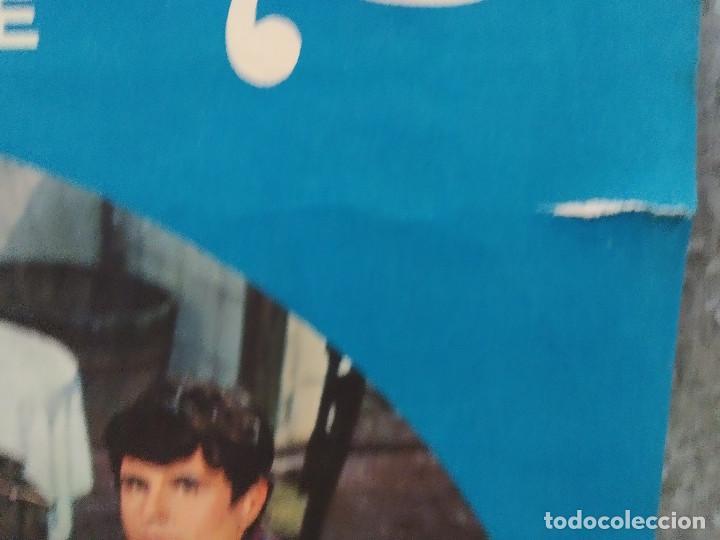Cine: Bohemios. Julián Mateos, Dyanik Zurakowska, Antonio Durán, José Franco. AÑO 1969. POSTER ORIGINAL - Foto 4 - 214719987