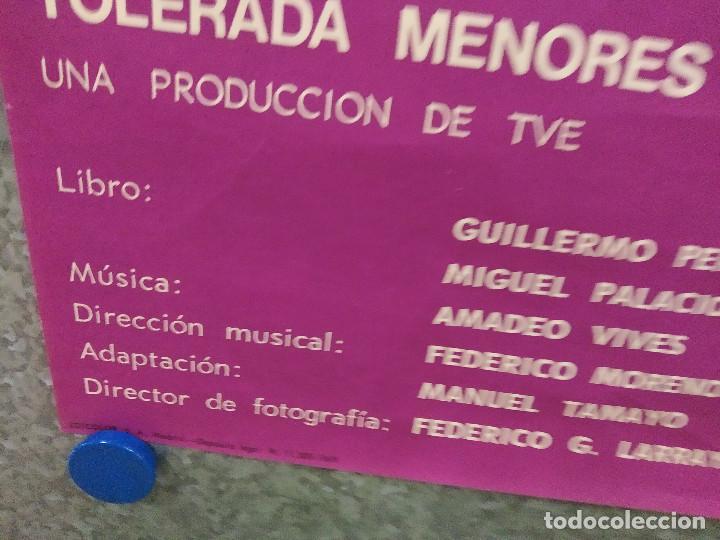 Cine: Bohemios. Julián Mateos, Dyanik Zurakowska, Antonio Durán, José Franco. AÑO 1969. POSTER ORIGINAL - Foto 6 - 214719987