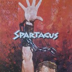 Cine: ESPARTACO 69CM X 100CM (REPRODUCCIÓN) SPARTACUS. Lote 214853513