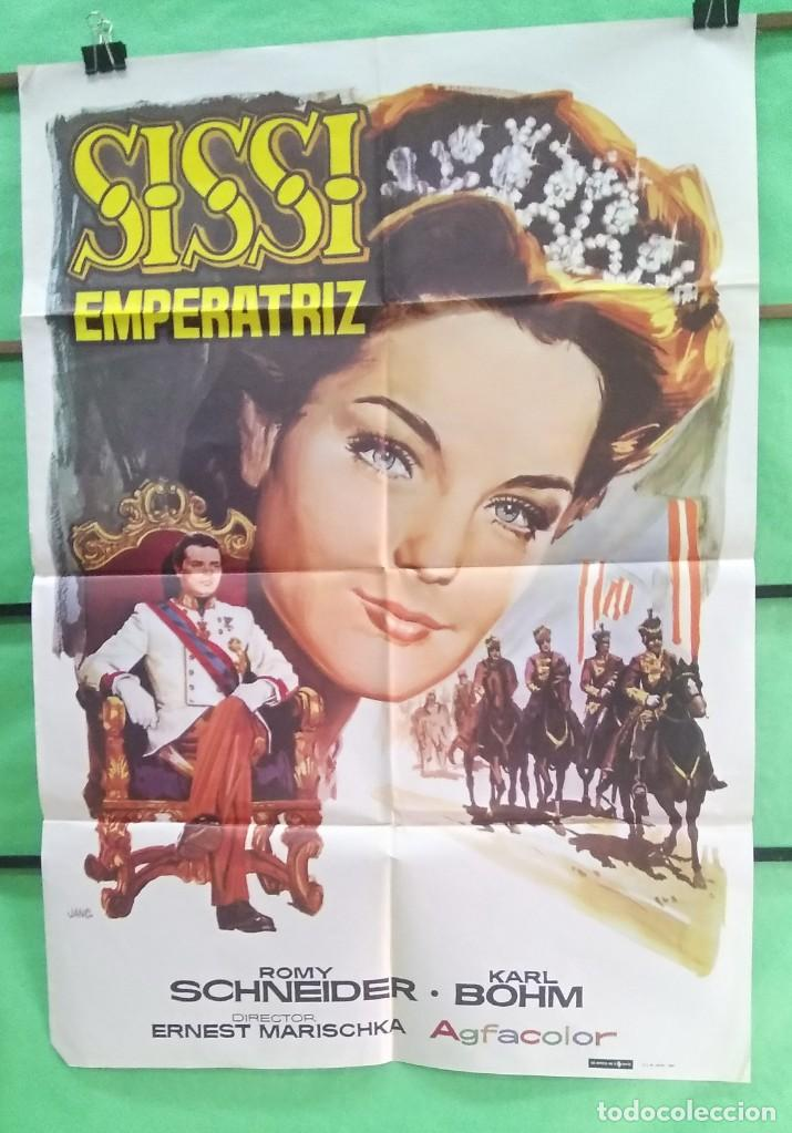 CARTEL CINE - SISSI EMPERATRIZ 1969 - ROMI SCNEIDER - EXCELENTE - P1 (Cine - Posters y Carteles - Aventura)