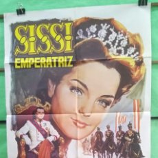 Cine: CARTEL CINE - SISSI EMPERATRIZ 1969 - ROMI SCNEIDER - EXCELENTE - P1. Lote 215147317