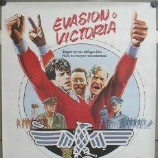 Cine: E803 EVASION O VICTORIA PELE MICHAEL CAINE FUTBOL POSTER ORIGINAL 70X100 ESTRENO. Lote 215184065