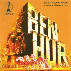 Cinéma: BEN - HUR (POSTER). Lote 215365617
