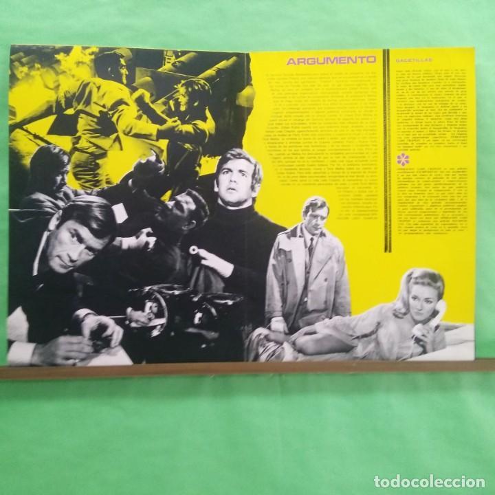 Cine: GUIA CINE - OPERACION LADY CHAPLIN 1966 - KEN KLARK - GUIA Y CARTEL - 8 PAGINAS - EXCELENTE - L6 - Foto 3 - 215368667
