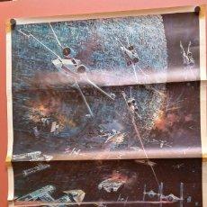 Cinema: POSTER CARTEL LA GUERRA DE LAS GALAXIAS STAR WARS - 1977 - 82,5X56CM. Lote 215373323