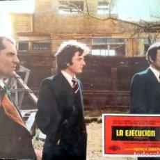 """Cine: CARTEL-ANUNCIO DEL FILM """"LA EJECUCIÓN (1973) DE PATRICK JAMAIN CON MAURICE RONET· 29X39. Lote 215663122"""