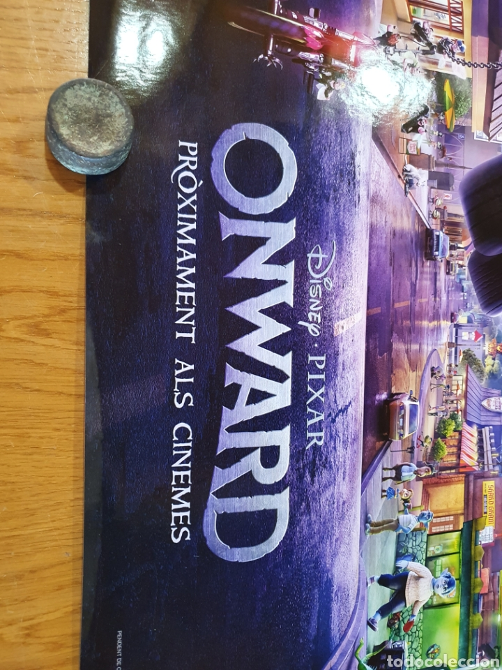 Cine: Onward, original promocional, procedente de cine. 98 cm x 68 cm. - Foto 2 - 215923226