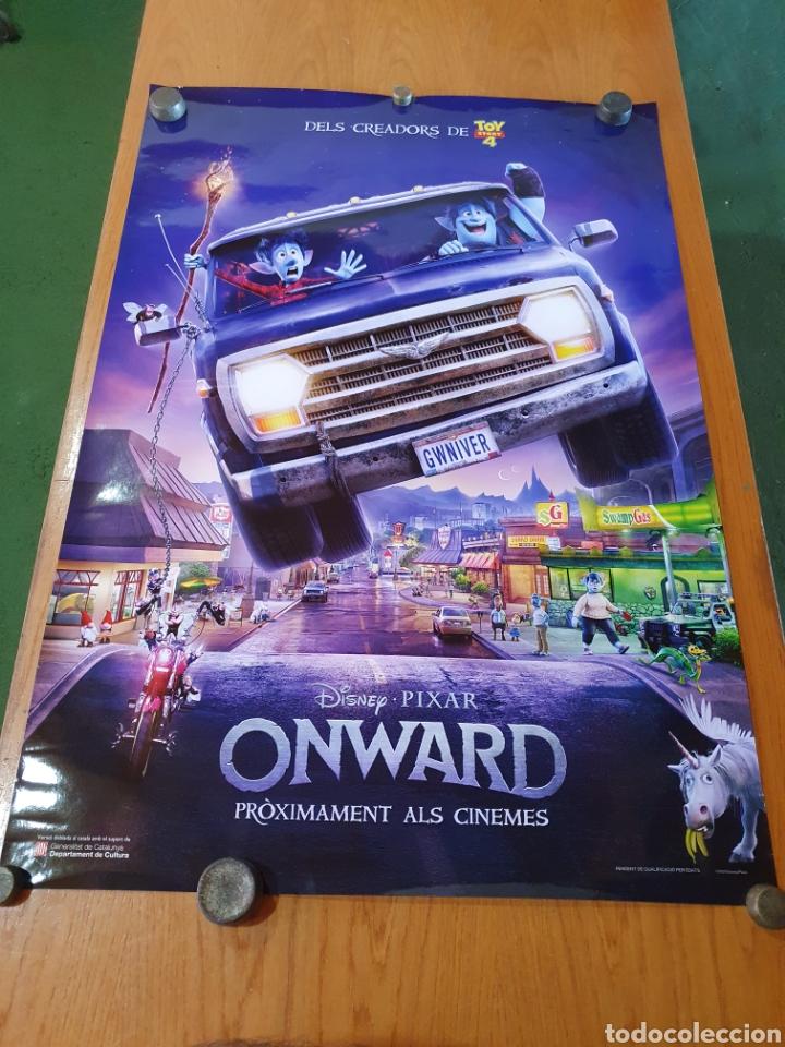 Cine: Onward, original promocional, procedente de cine. 98 cm x 68 cm. - Foto 5 - 215923226