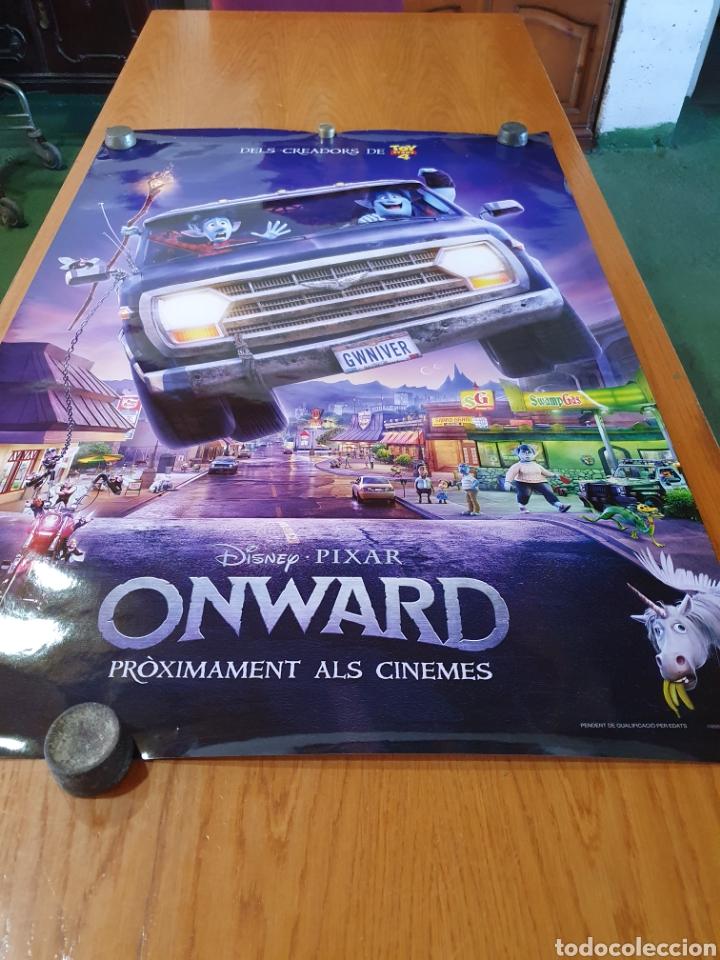 Cine: Onward, original promocional, procedente de cine. 98 cm x 68 cm. - Foto 6 - 215923226