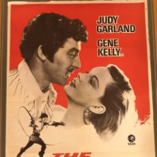 Cinéma: CARTEL ORIGINAL 70X100 THE PIRATE (1.948). JUDY GARLAND Y GENE KELLY. Lote 215930882