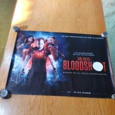 Cine: BLOODSHOT, CARTEL ORIGINAL DE CINE, IMPRESO POR DETRÁS, 68 CM X 50,. Lote 215938497