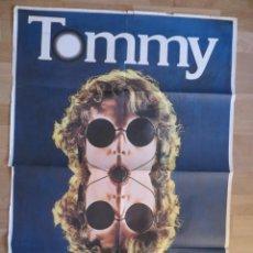 Cine: TOMMY: POSTER ORIGINAL DE LA EPOCA (1975)!!!!!!!!!!!!!!!!! THE WHO (SPAIN 1975). Lote 216121580