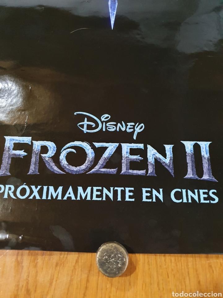 Cine: FROZEN II, cartel original promocional de cine, 98 cm x 68 cm. - Foto 4 - 216362216