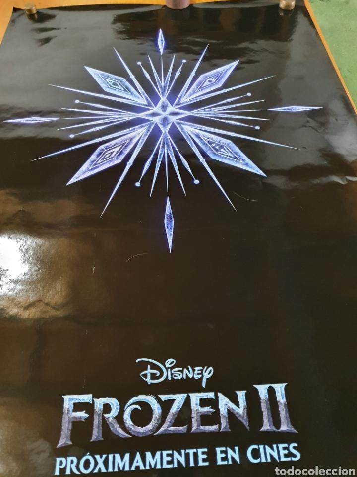 Cine: FROZEN II, cartel original promocional de cine, 98 cm x 68 cm. - Foto 5 - 216362216