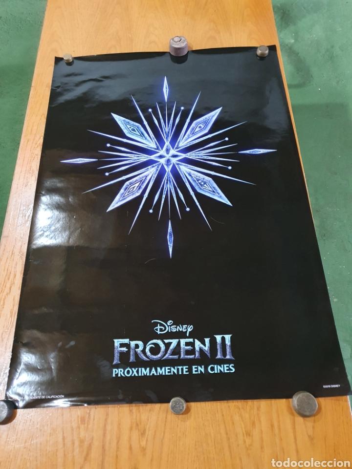 FROZEN II, CARTEL ORIGINAL PROMOCIONAL DE CINE, 98 CM X 68 CM. (Cine - Posters y Carteles - Infantil)
