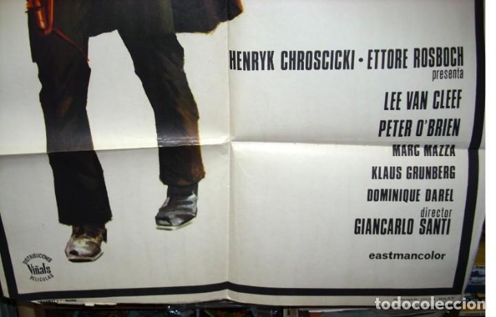 Cine: GRAN DUELO AL AMANECER, CARTEL ORIGINAL DE ESTRENO,1974, LEER Y VER FOTOS - Foto 3 - 216532080