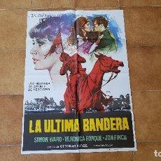 Cinéma: POSTER CARTEL LA ULTIMA BANDERA (100 X 70 CMS. APROX.) 1977. Lote 216547520