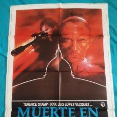 Cine: CARTEL POSTER - MUERTE EN EL VATICANO ( 70 X 100 ). Lote 216614208
