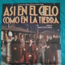 Cine: CARTEL POSTER - ASI EN LA TIERRA COMO EN EL CIELO ( 70 X 100 ). Lote 216614847