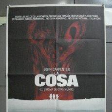Cinéma: CDO 4591 LA COSA JOHN CARPENTER KURT RUSSELL POSTER ORIGINAL 70X100 ESTRENO. Lote 216684293