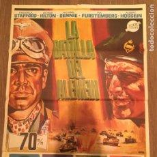Cine: CARTEL DE CINE DEL ESTRENO DE LA PELÍCULA LA BATALLA DEL ALEMEIN (1969). Lote 216733885